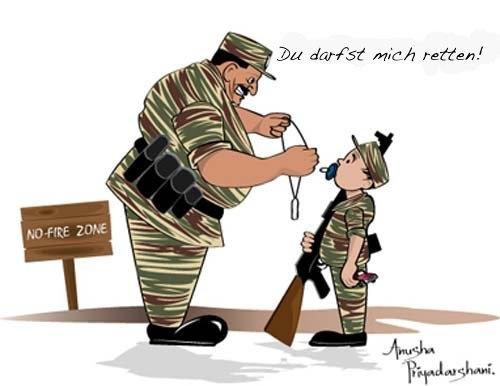 Kindersoldaten-Rekrutierer Prabhakaran - Verbrechen wider der Menschlichkeit