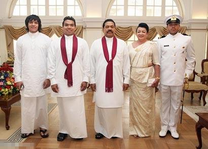 rajapaksa-family
