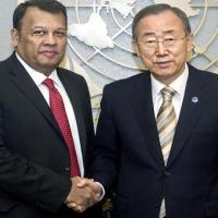 Ban Ki Moon betont Verantwortlichkeit Sri Lankas