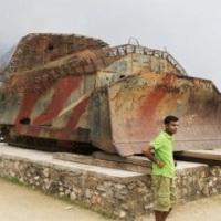 Der Kriegs Tourist übersieht die Realitäten