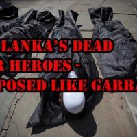 Gefallene SL-Soldaten: Im Müllsack ab ins Meer