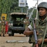 Nach Navi Pillays Besuch: Die Soldaten tauchen wieder auf